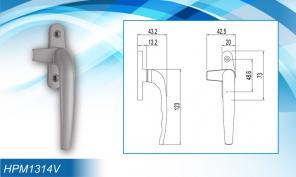 Khoá cửa bật HPM1314V